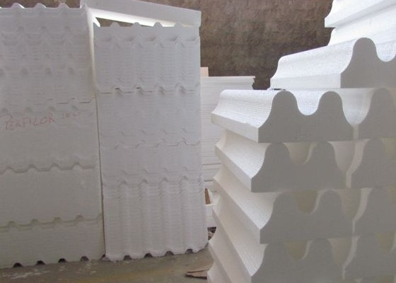 Placas para isolamento térmo acústico